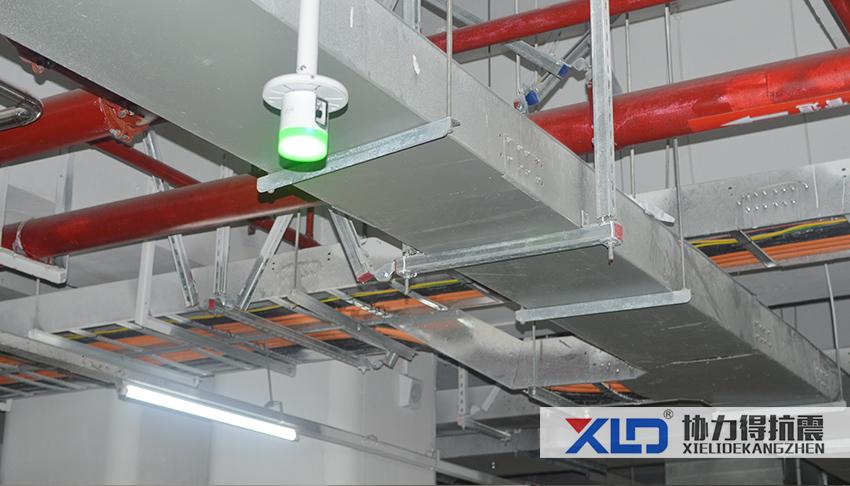 電纜橋架抗震支架安裝圖片